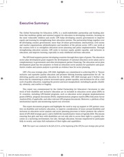 GPE - Disability and Inclusive Education A Stocktake of Education Sector Plans and GPE-Funded Grants.pdf - page 6/83