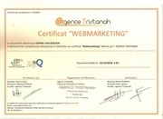 certification webmarketing
