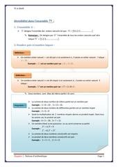 cours arithmetique 1 tc biof