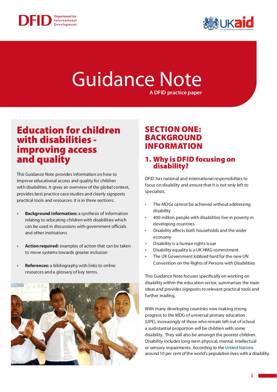 Aperçu du document DFID_edu-chi-disabil-guid-note.pdf - page 1/22