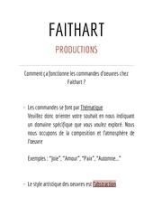 faithart production  commande 1