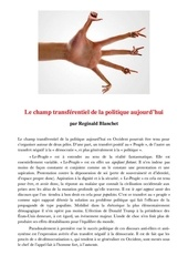 Fichier PDF le champ tranferentiel