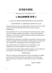 alliance go  doc