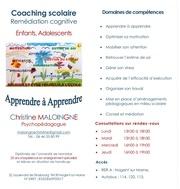 coaching scolaire plaquette murale