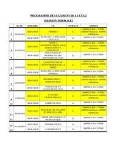 nouveau programme examens session  sept  l1l2