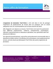 catalogue de formations transfaire 2018 2019