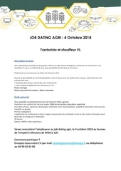 offre job dating agri tractoriste