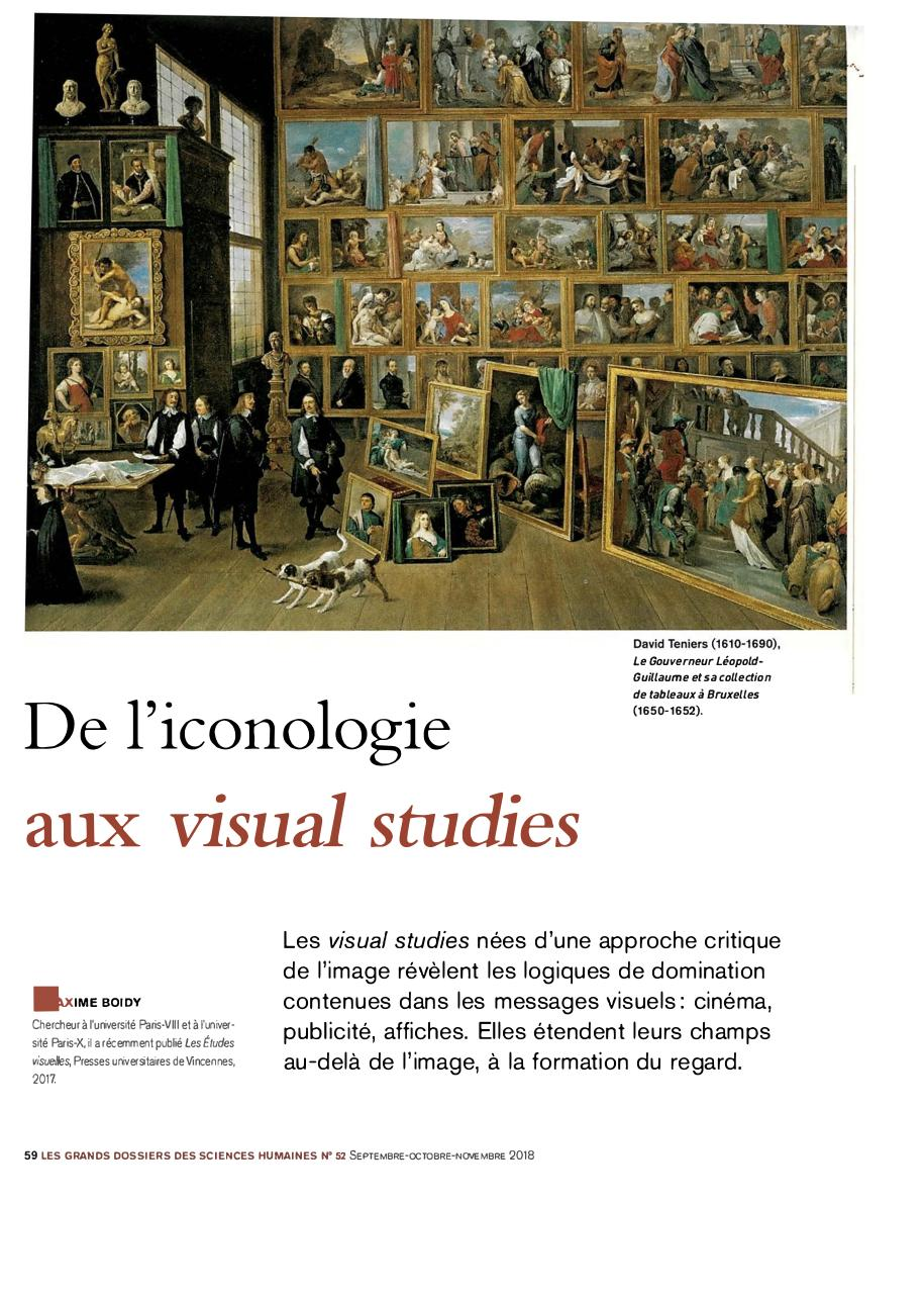 Aperçu du document 2 - De l'iconologie aux visual studies .pdf - page 1/4