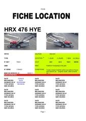 fiche location hrx476hye