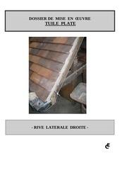 Fichier PDF rive laterale droite tuile