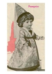 1960 01 mfrancoise en dame du moyen age