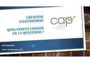 capcreation dentreprisequel statut en 11 questions