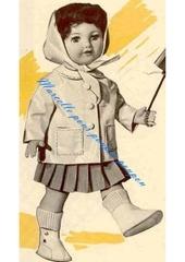 1960 04 mfrancoise en imper