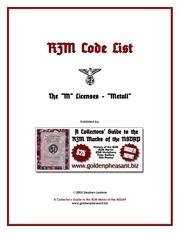 Fichier PDF rzmcodelist