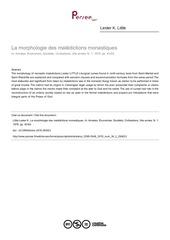 lester k little  la morphologie des maledictions monastiques