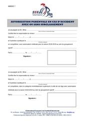 7   autorisation parentale en cas daccident