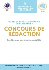 concours redaction
