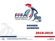 Fichier PDF dossier licences 18 19