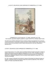 la vie et loeuvre de louis carrogis dit carmontelle 1717 1806
