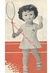 1964 06 mfrancoise cost tennis