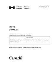 Fichier PDF guide de survie armee