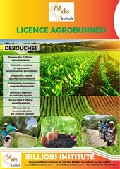 licence agro business bill jobs institute