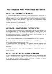 reglement jeu concours amir  pdf 2