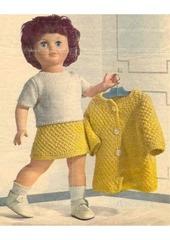 1966 08 mfrancoise ens tricote