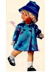 1966 11 mfrancoise manteau chapeau