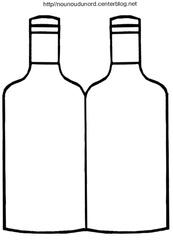 bouteille gabarit