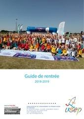 guide rentree usep 2018 19   copie