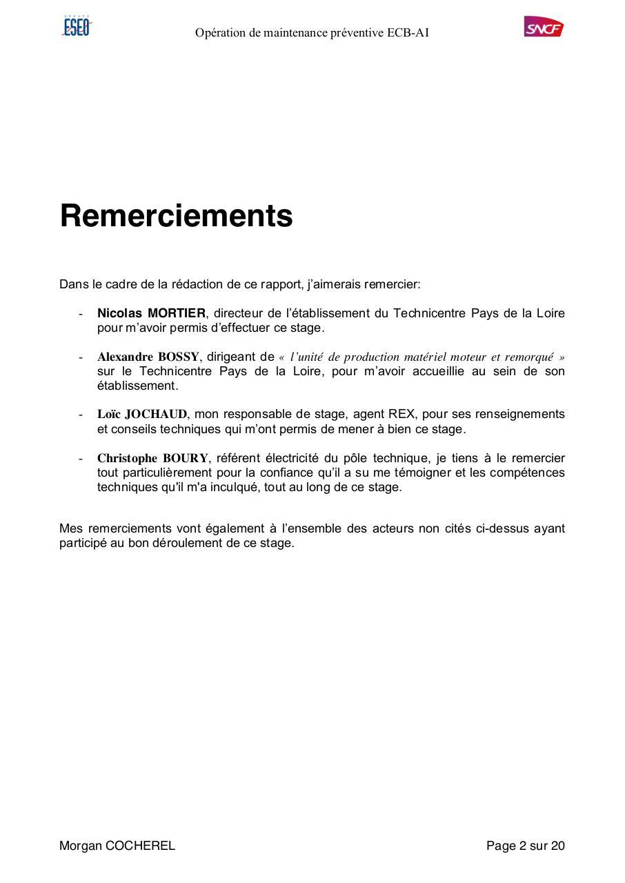 Rapport De Stage Rapport Stage Sncf Pdf Fichier Pdf