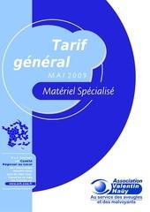 tarifgeneralmai2009