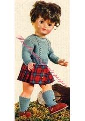 1967 03 mfrancoise pull jupe
