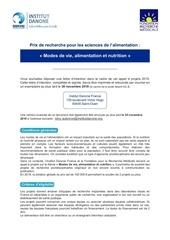 prix idf frm 2019reglement