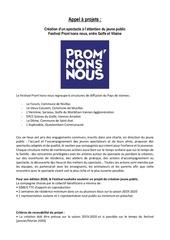 Fichier PDF appel a projets promnons nous 2020