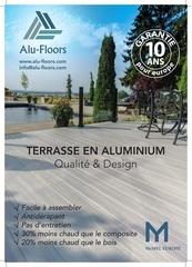 Fichier PDF lame de terrasse en aluminium