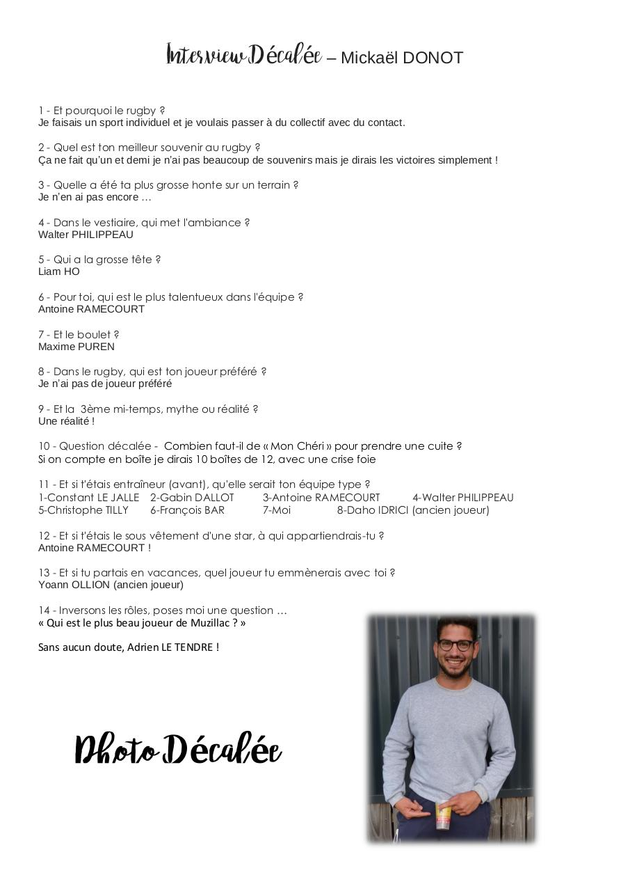 Aperçu du document Interview Décalée - Micka.pdf - page 1/1