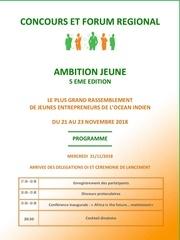 programme concours et forum ambition jeune 5
