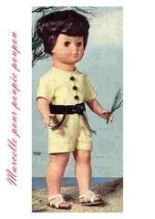 1971 06 mfrancoise combinaison short