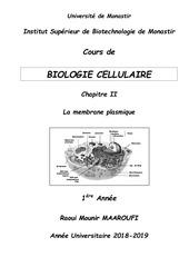 cours polycopie bio cell    chap ii   1e a isbm 2018 2019