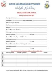 demande daffiliation saison sportive 2018 2018 1