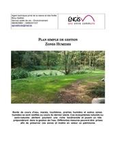 plan de gestion zones humides