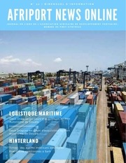 afriport news online n22bimensuel dinformation portuaire