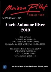 carte patisserie maison pillet automne hiver10 2018