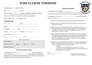 dossier inscription judo