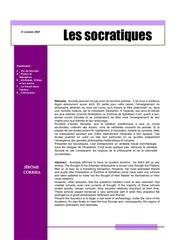 socratiques