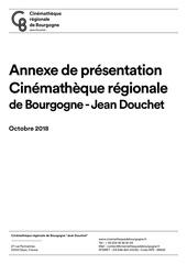 2018 10 18 presentation cinematheque