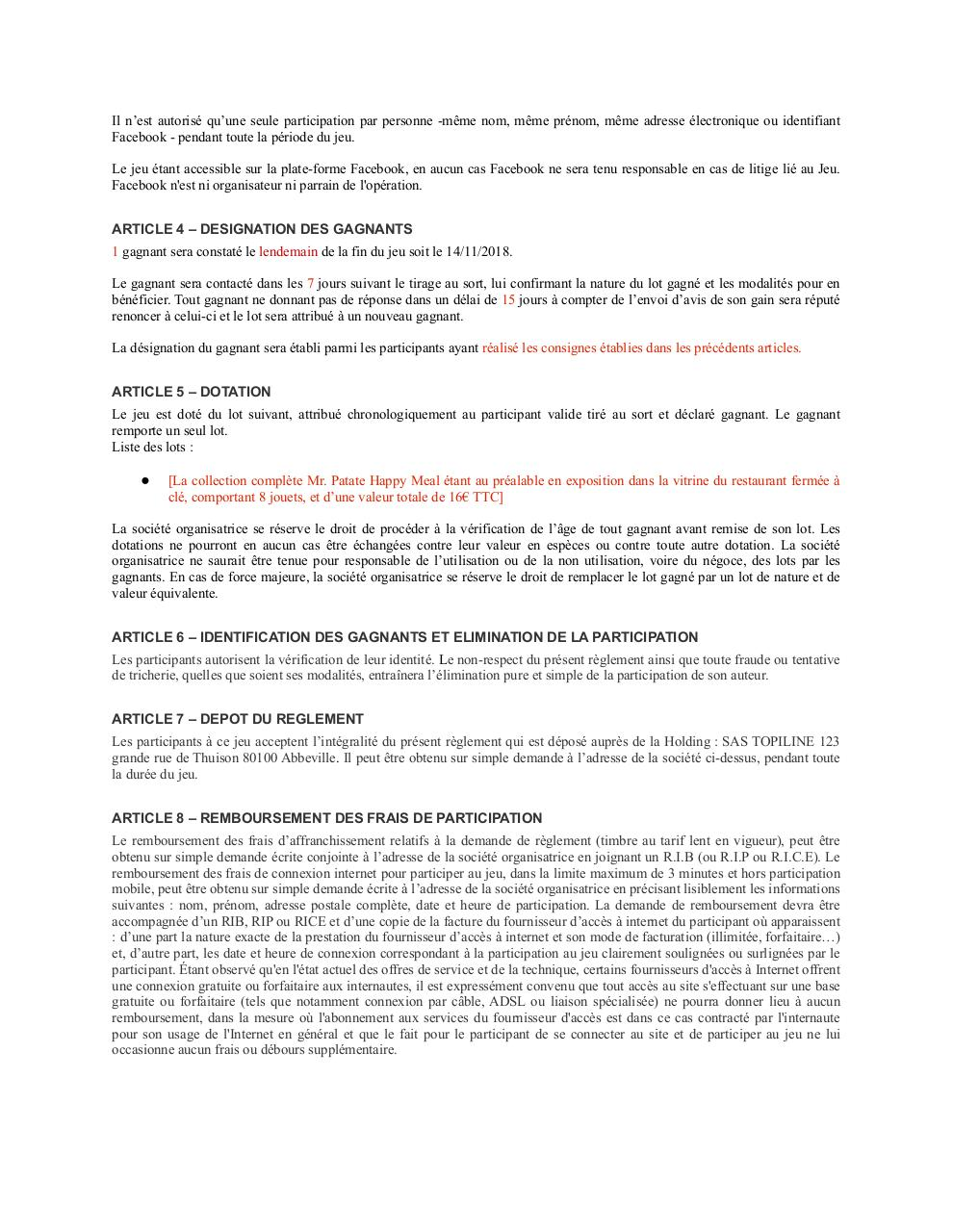 Aperçu du document reglement legal facebook mr patate.pdf - page 2/2