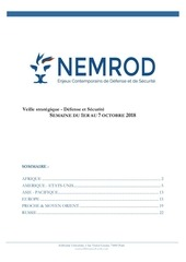 veille strategique nemrod 1er au 7 octobre 2018